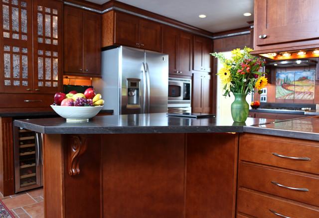 Craftsman Kitchen - Cherry contemporary-kitchen