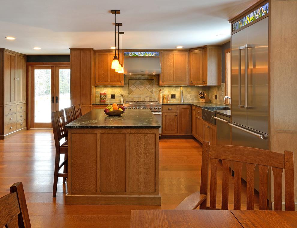 Craftsman Kitchen - Craftsman - Kitchen - Portland Maine ...