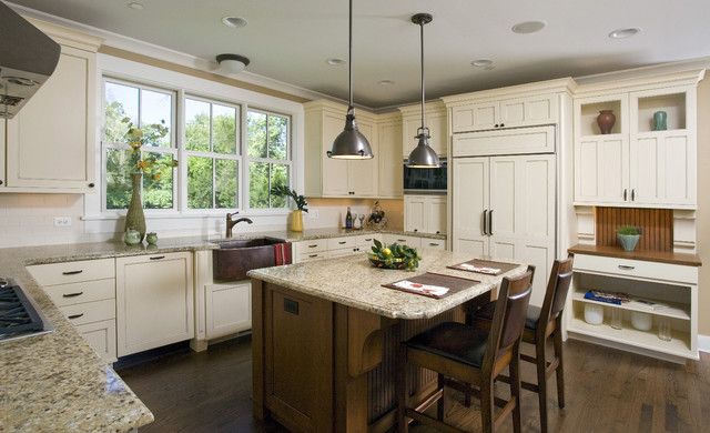 craftsman kitchen - craftsman - kitchen - chicago -great rooms