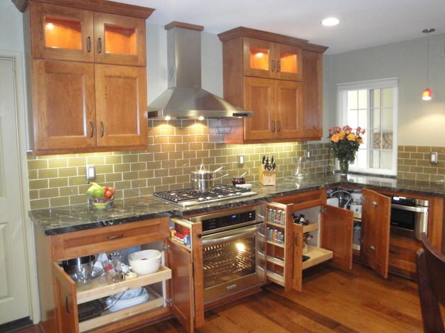 Craftsman kitchen in Santa Ana craftsman-kitchen
