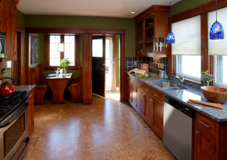 Numerous Patterns And Textures Are Available To Fit Your Kitchen Design Cork Can Be Protected By