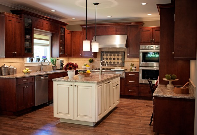 NW Craftsman - craftsman - kitchen - seattle - by Sheila Mayden
