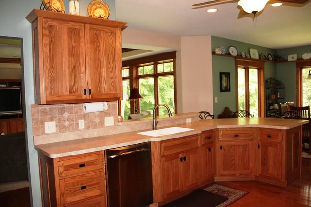 Craftsman Style Home craftsman-kitchen