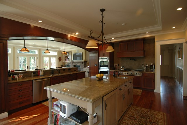 Craftsman Style in Burlingame-Kitchen craftsman-kitchen