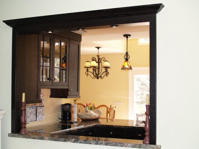 Craftsman style kitchen traditional-kitchen
