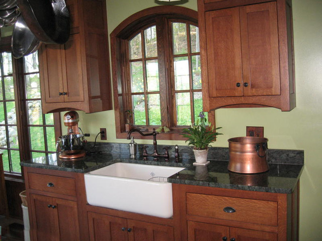 Craftsman style kitchen craftsman kitchen new york for New york style kitchen design