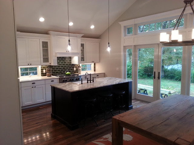 Craftsman Style Kitchen - Traditional - Kitchen - new york ...