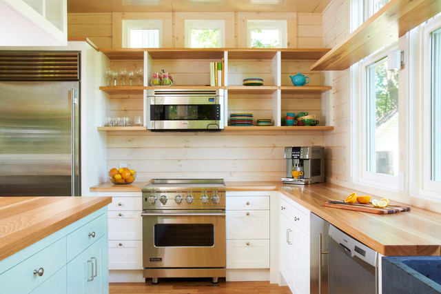 Crane Island Cabin - Traditional - Kitchen - Minneapolis - by ...