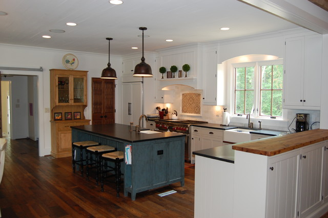 Crane - Traditional - Kitchen - raleigh - by Omega Creations