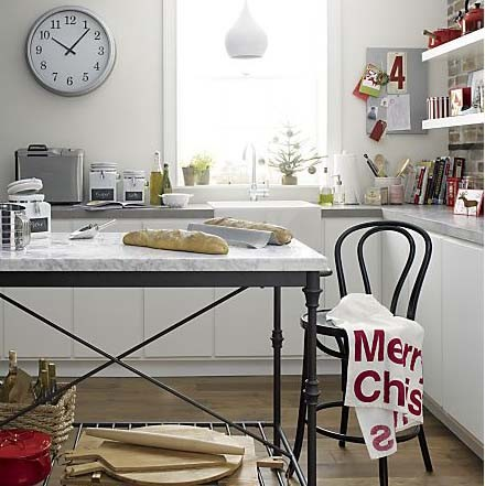 Crate and Barrel at the Holidays - Transitional - Kitchen ...