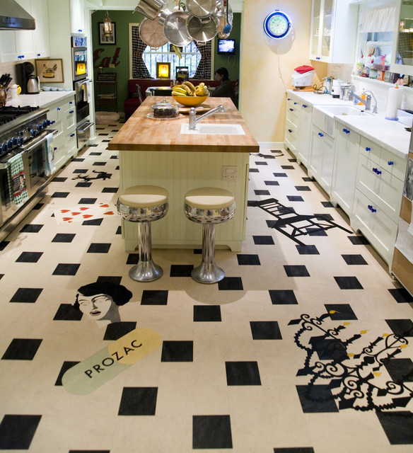 Flooring Companies Bay Area: Crazy Fun Linoleum