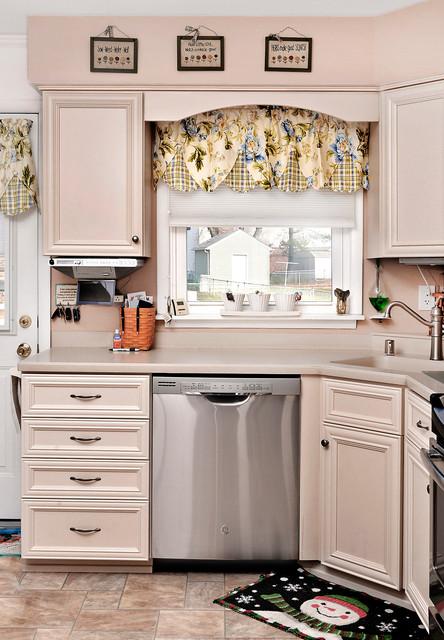 Kitchen with Corner Cabinet in Essex, MD - Transitional - Kitchen ...