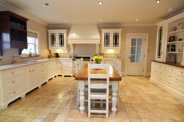 Cream Painted Country Kitchen Farmhouse Kitchen Other By Liam Grant Wood Design Houzz