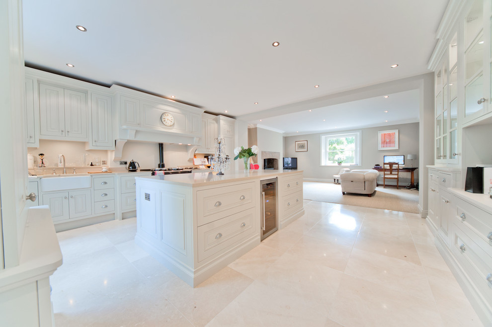 Cream Shaker Style Kitchen Traditional Kitchen Dublin By Nuhaus Ltd