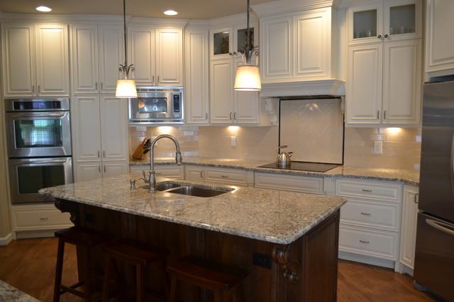 Creamy White Kitchen Traditional Kitchen Atlanta