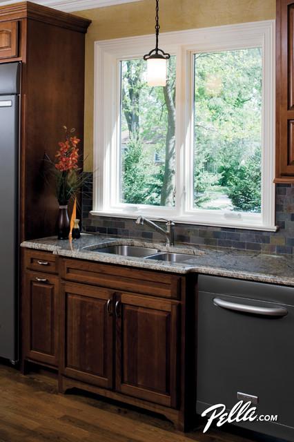 Amazing Create A Light Breeze With Pella® ProLine® 450 Series® Casement Windows  Kitchen