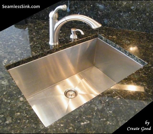 Kitchen Sink Model: Zero Radius Undermount Kitchen Sinks Model: UC-SS-0Ri-S27