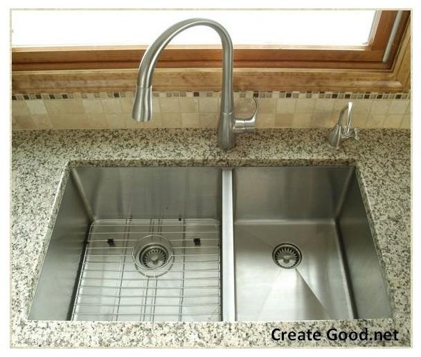 half inch radius undermount sinks - Kitchen - cincinnati - by Create ...