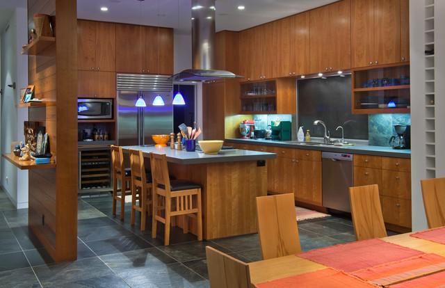 Birch Bluff contemporary-kitchen