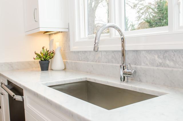 Kitchen - transitional kitchen idea in DC Metro