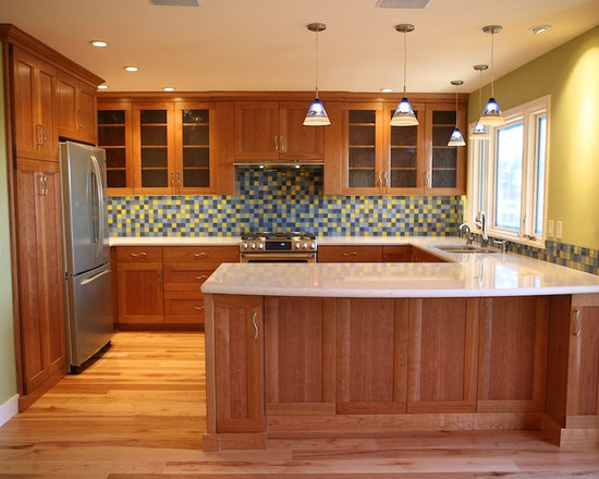 Natural Cherry Cabinets Design Ideas Pictures Remodel And Decor