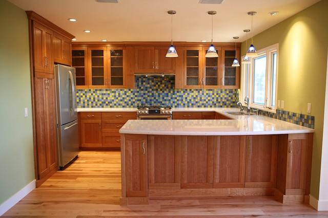 Creative Colorful Remodel Contemporary Kitchen Other By Santa Cruz Design Build