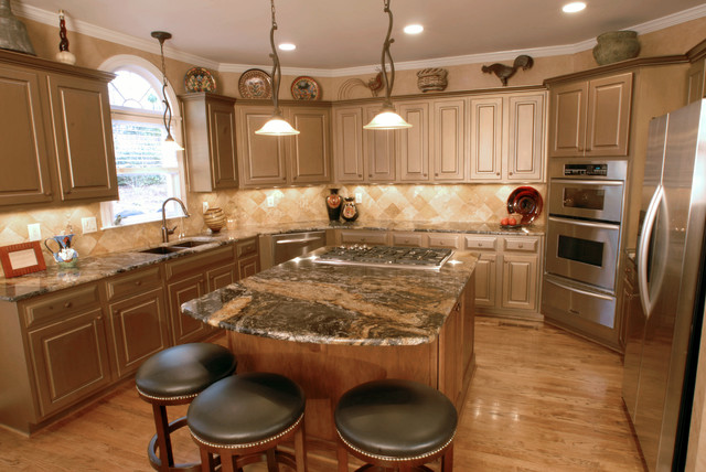 Creative Cabinets and Faux Finishes, LLC eclectic-kitchen