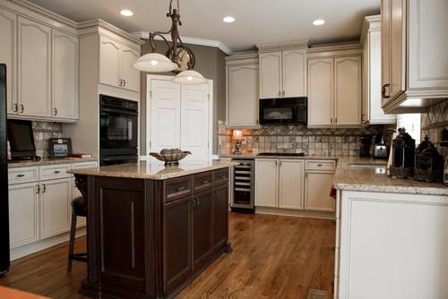 Kitchen by Atlanta Kitchen & Bath Designers Creative Cabinets