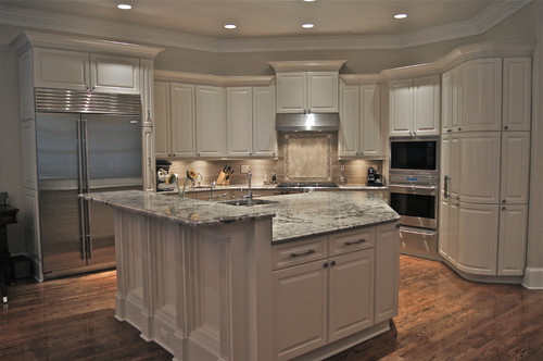 What is the backsplash for Kitchen cabinet finishes