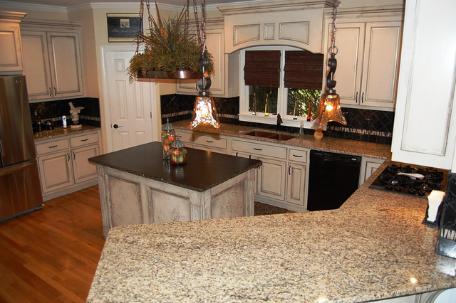 Interesting Faux Finish Kitchen Cabinets Diy Painting Antiquing In