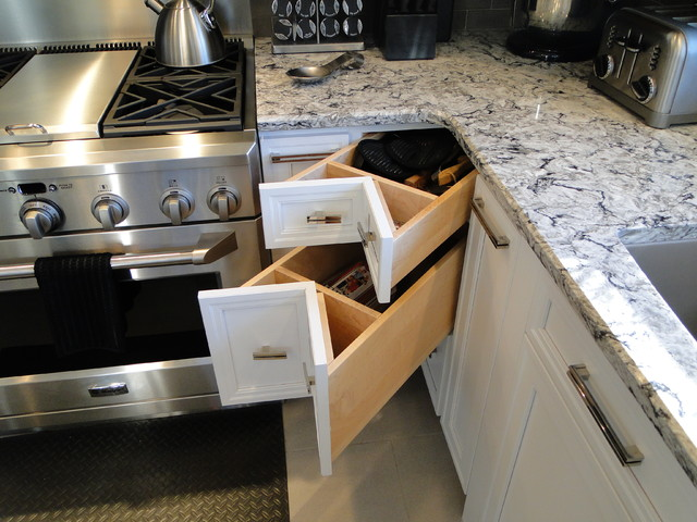 Creative Kitchen Storage - Modern - Kitchen - Boston - by ...