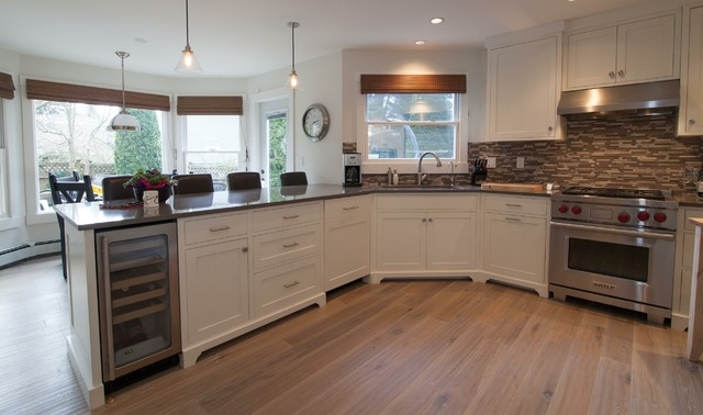 Crescent Beach Kitchen Project contemporary-kitchen