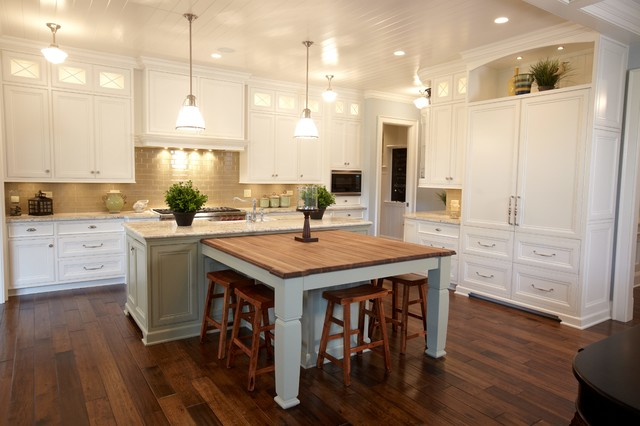 Cress Creek Traditional Kitchen Chicago By Siena Custom Builders Inc