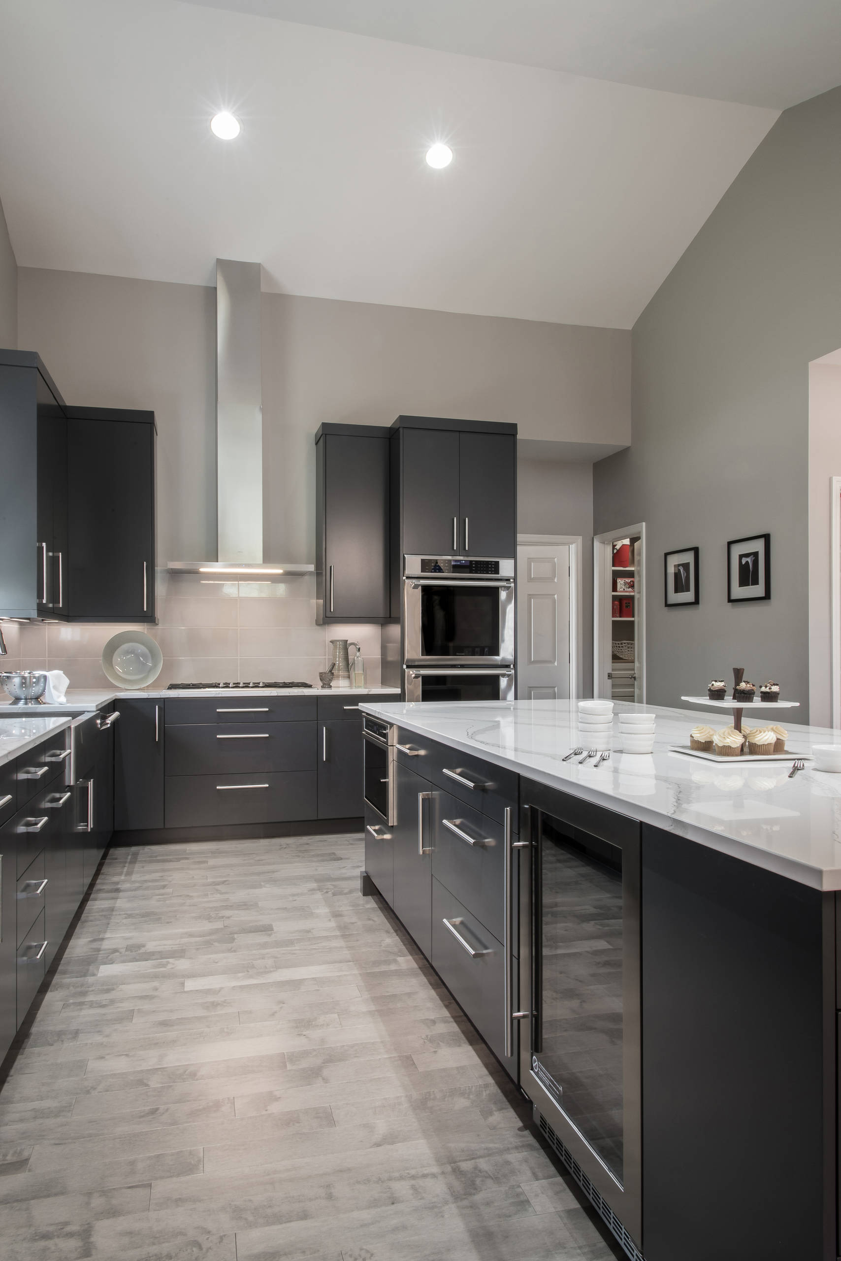 10 Beautiful Modern Gray Kitchen Pictures & Ideas - January, 10
