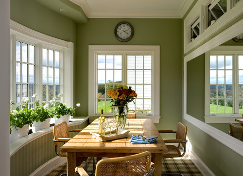 Green and Brown Room Inspiration