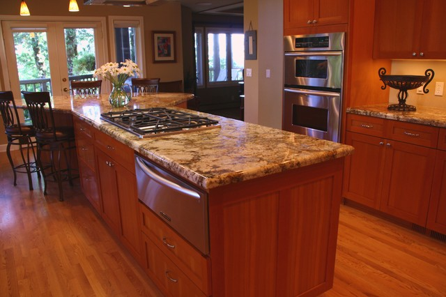 Croisan Kitchen Remodel Transitional Kitchen Portland By Doyle Residential Design Services