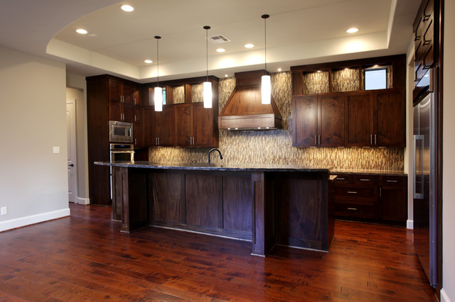 Croix Custom Homes contemporary-kitchen
