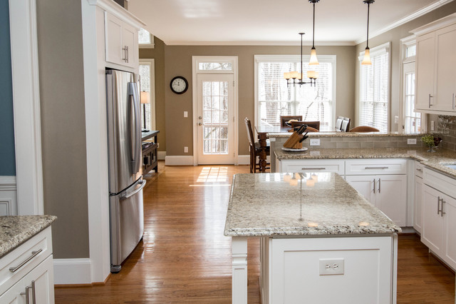 Crooked Creek Kitchen goes Shaker style! - Transitional - Kitchen ...