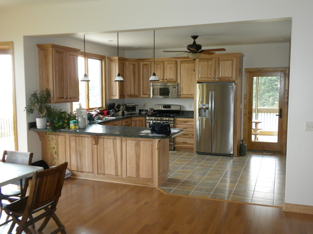 Crossing Gables contemporary-kitchen