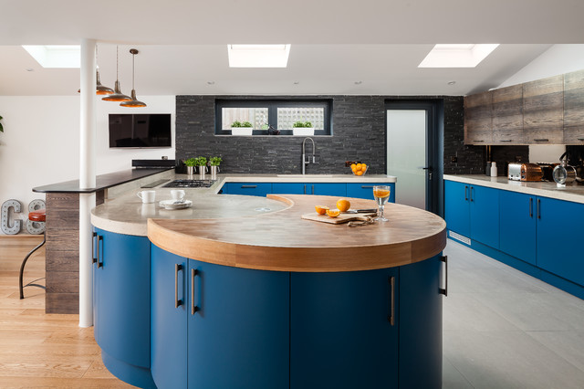 Crowborough East Sussex Bespoke Kitchen Design Industrial Kitchen Suss