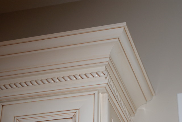crown molding - traditional - kitchen - denver -cdk kitchens