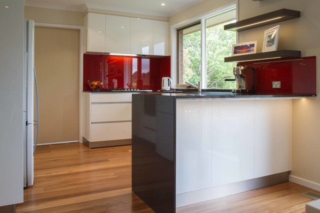 Croydon Hills Contemporary Kitchen Melbourne By The Kitchen Design Centre