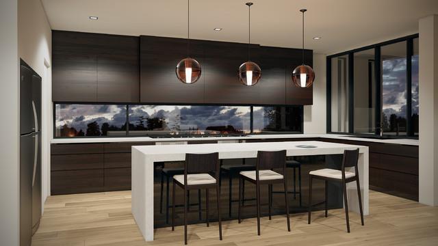 Croydon Melbourne Modern Kitchen Melbourne By