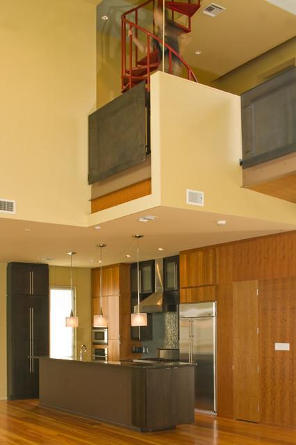 Crutcher Residence modern-kitchen