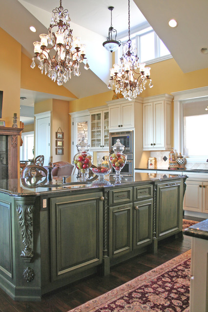 Crystal cabinet works halifax traditional kitchen for Kitchen cabinets halifax