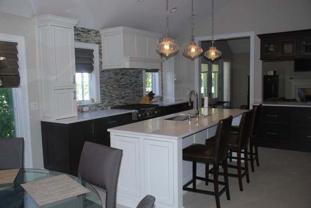 Crystal Cabinet Works traditional-kitchen