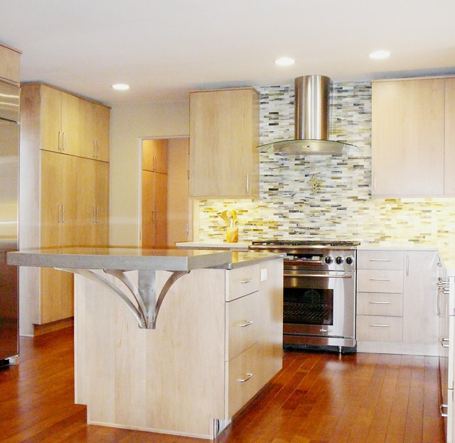 Crystal Cabinet Works Springfield contemporary-kitchen