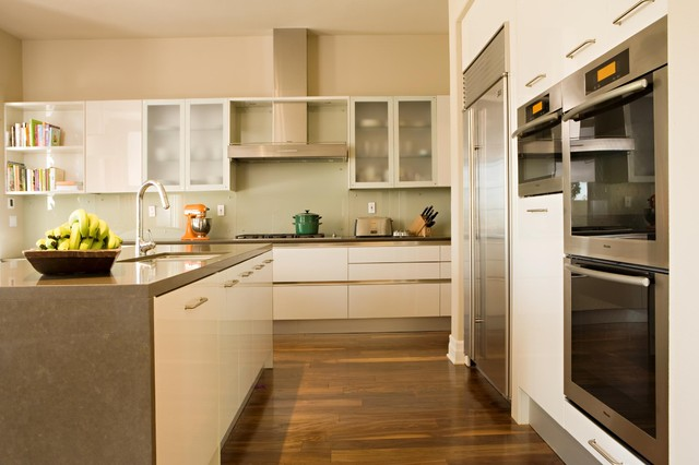 Crystal Cove contemporary-kitchen