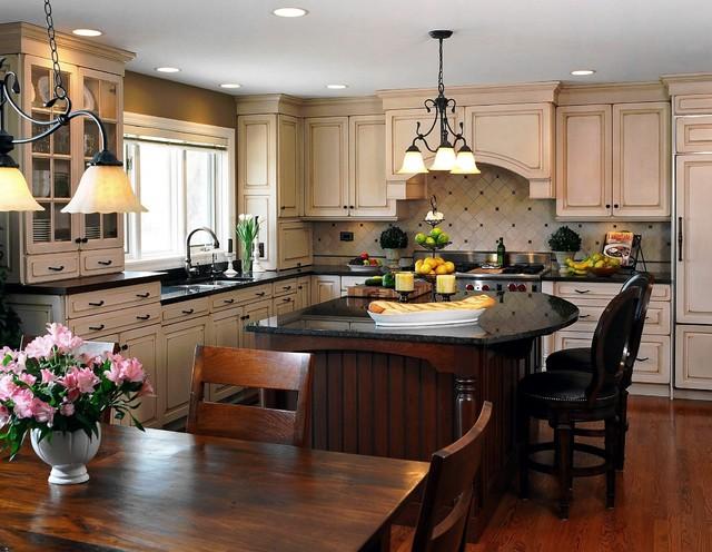 Crystal Lake Residence kitchen
