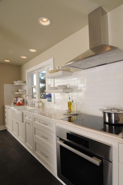 Crystals & Bricks contemporary-kitchen
